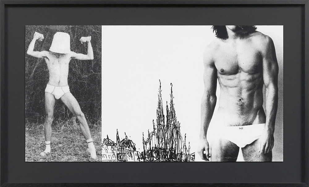 "Julian Göthe – Oooo! (""The More I See You""), 2011 silkscreen on paper 31 x 58,8 cm"