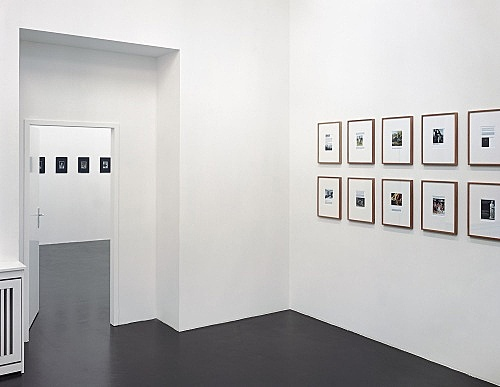 Henrik Olesen – installation view Galerie Daniel Buchholz, Köln 2005