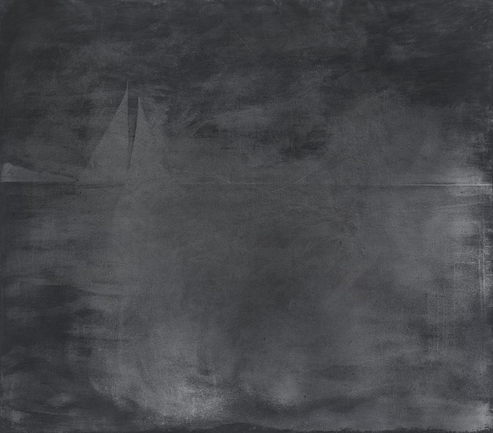 "Silke Otto-Knapp – ""Seascape"", 2012 watercolour on linen 150 x 170 cm"