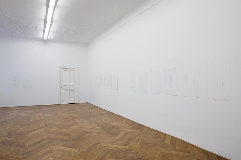 "Florian Pumhösl – ""Diminution"" installation view Galerie Daniel Buchholz, Berlin 2010"