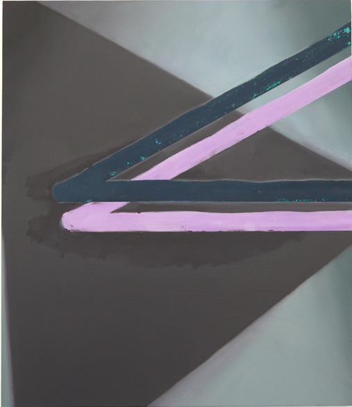 Thomas Eggerer – Untitled, 2011 oil on linen 100 x 86,5 cm