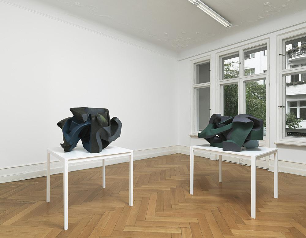 Vincent Fecteau – installation view Galerie Buchholz, Berlin 2012