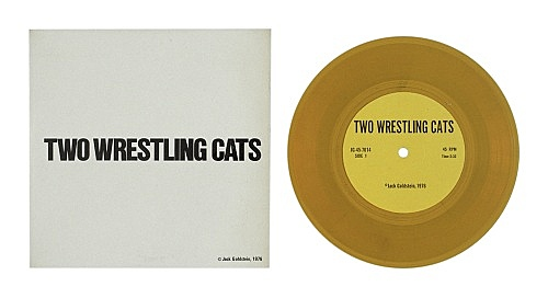 "Jack Goldstein – ""A Suite of Nine 7-Inch Records"", 1976 