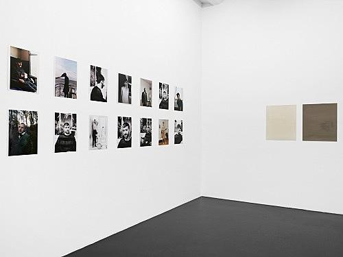 """Wolfgang Tillmans – """"paper drop"""" installation view, Galerie Daniel Buchholz, Neven-DuMont-Straße 17, Köln 2007"""