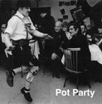 "Julian Göthe – ""Pot Party"" 2011, music CD, 75' 11'' – This music CD has been compiled by Julian Göthe as his contribution to the group exhibition ""Quodlibet III - Alphabets and Instruments"" at our gallery in Berlin in September 2011."