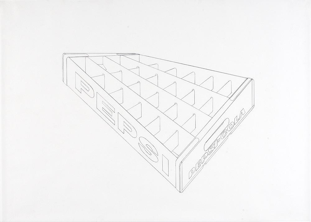 Morgan Fisher – Untitled, 2008 xerox on paper 76 x 111 cm