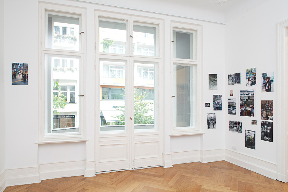 Wolfgang Tillmans – Installation Eins, 2010 wall installation with 16 c-prints approx. 400 x 180 cm