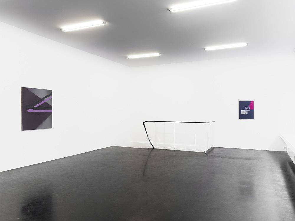 "Thomas Eggerer – ""In der Pyramide"" installation view Galerie Daniel Buchholz, Köln 2011"