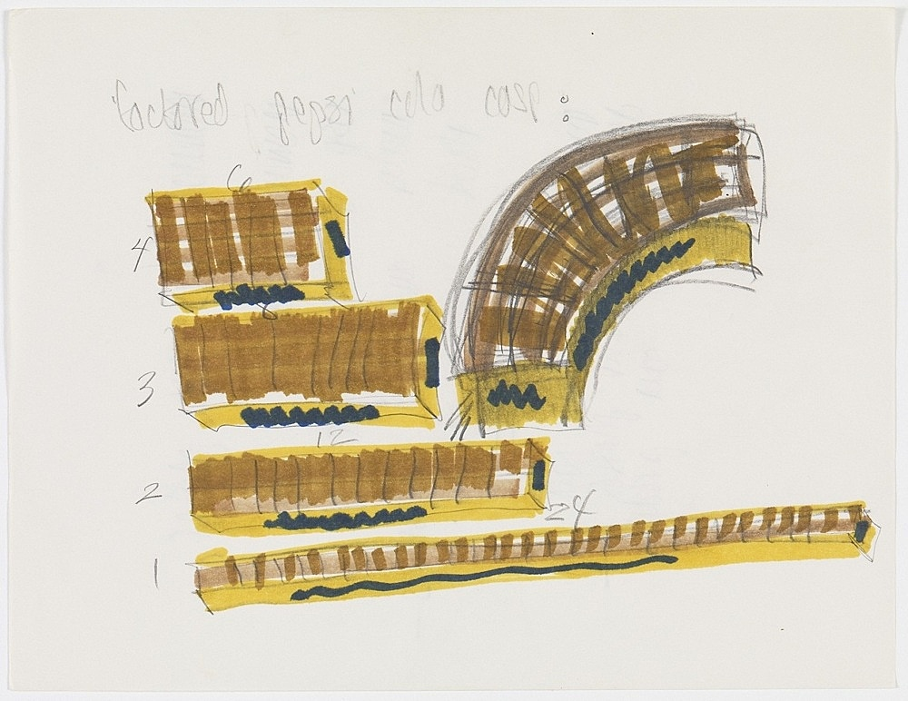 Morgan Fisher – Untitled, 1968 pencil and marker on paper 21,5 x 27,9 cm
