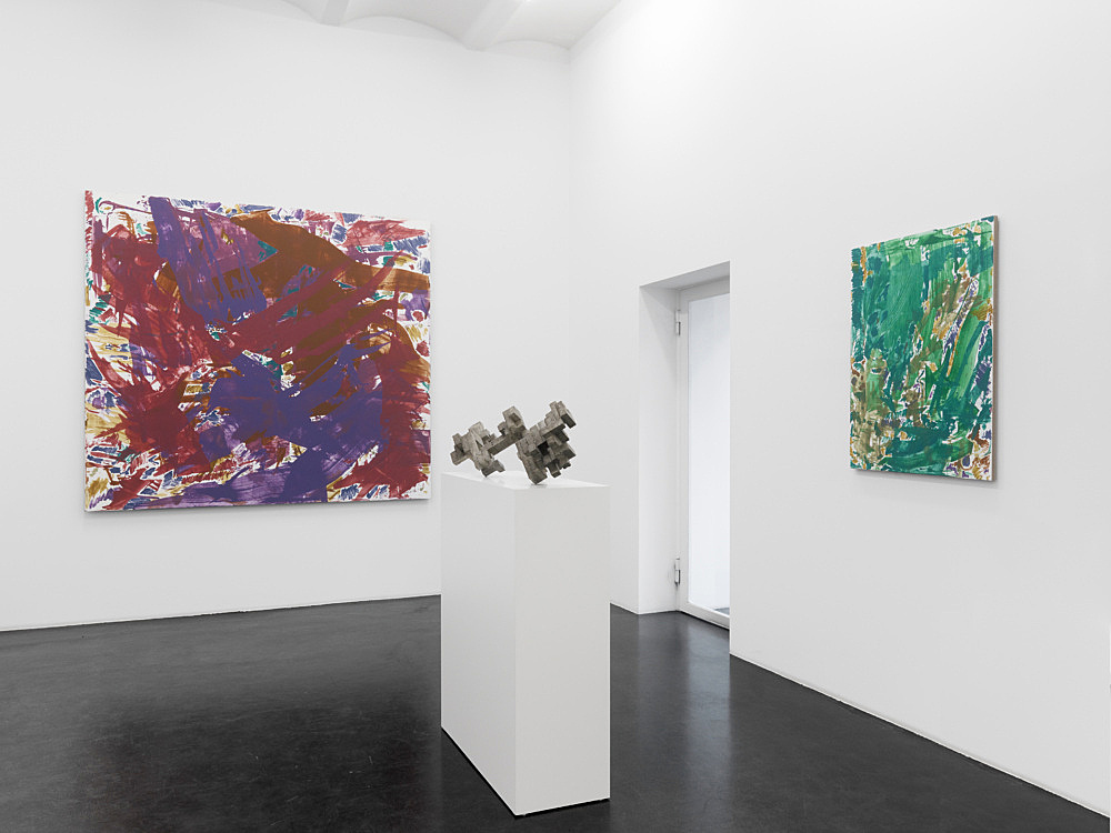 "Cheyney Thompson – ""10M/1000 ML/10 L"" installation view Galerie Buchholz, Köln 2013"