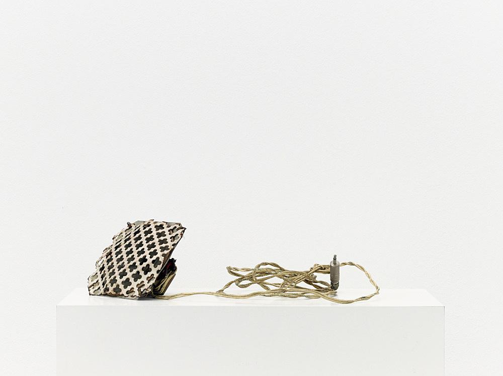 "Tony Conrad – ""Small Swinging Speaker"", ca. 1969 speaker, wire dimensions variable"