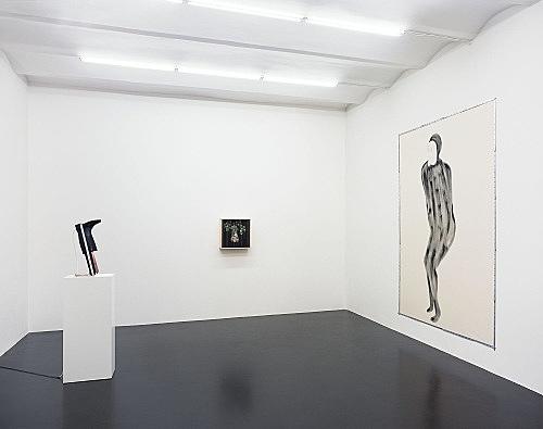 Enrico David – installation view Galerie Daniel Buchholz, Köln 2005