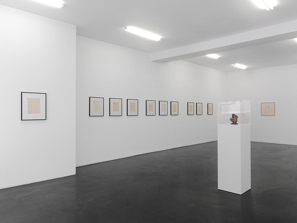Elie Nadelman Jim Nutt – installation view Galerie Buchholz, Köln 2013