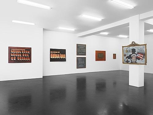 Martin Wong – Works 1980 - 1998 installation view Galerie Daniel Buchholz, Köln 2010