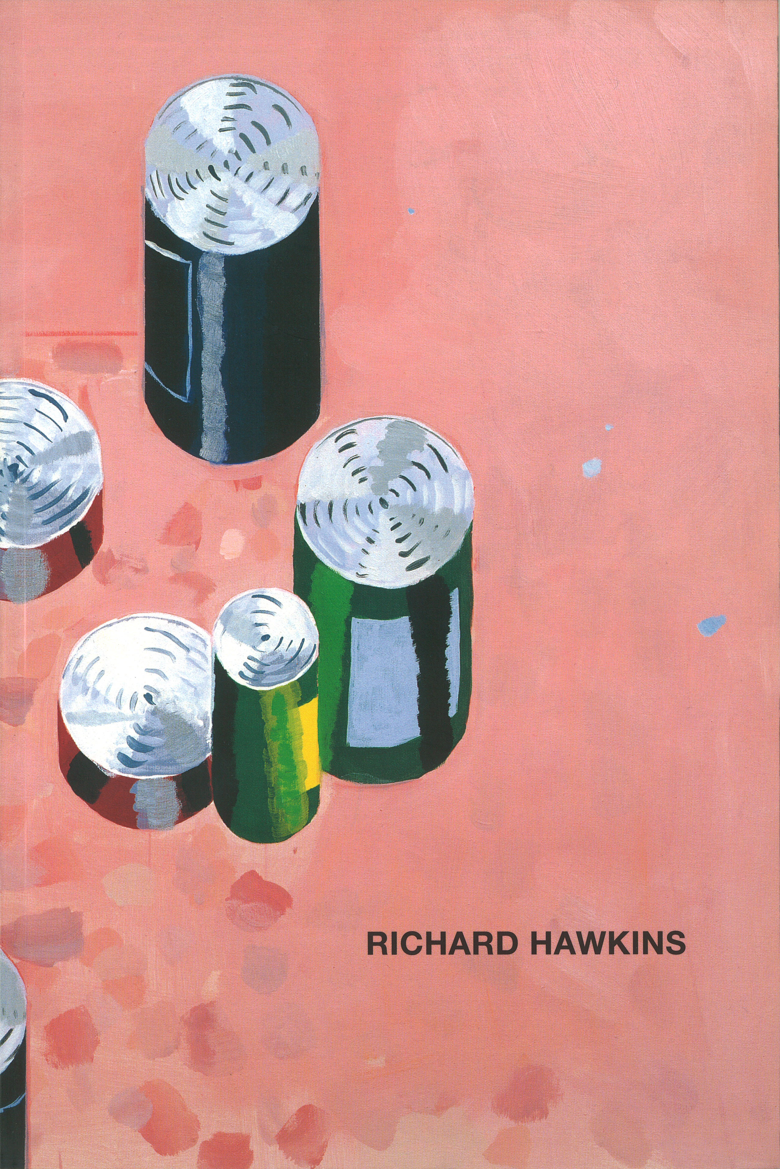 Richard Hawkins – 2003, 64 pages, fully illustrated in color, Owrps, 24,5 x 16,5 cm Edition 1000 out of print – First catalogue on the artist Richard Hawkins, published on the occasion of his solo exhibition at the Kunstverein Heilbronn in September/October 2003. The book includes an essay by Larry Johnson and a text by Richard Hawkins on his most recent paintings, both in English and German.