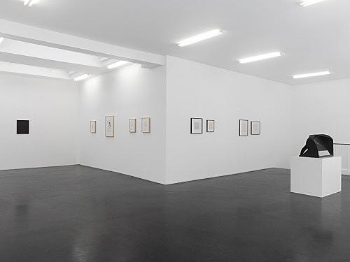 Elie Nadelman Jim Nutt Tomma Abts Vincent Fecteau – installation view Galerie Buchholz, Köln 2013