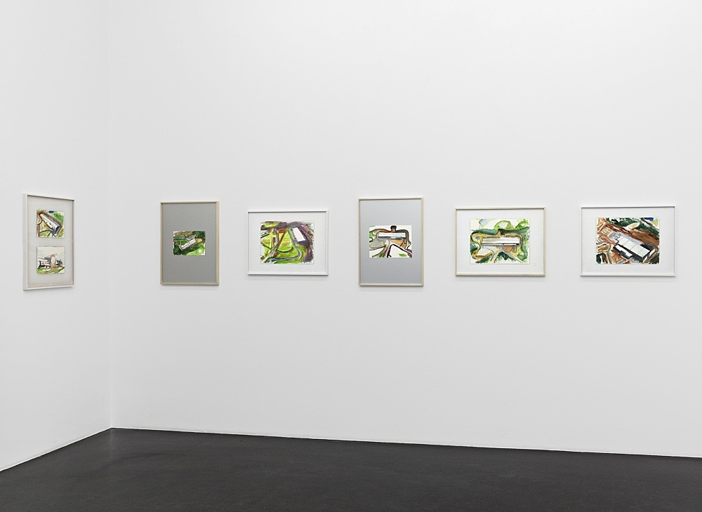 John Kelsey – installation view Galerie Buchholz, Köln 2013
