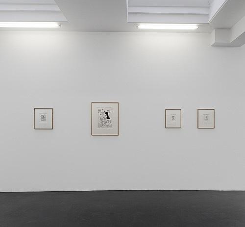 Jim Nutt – installation view Galerie Buchholz, Köln 2013