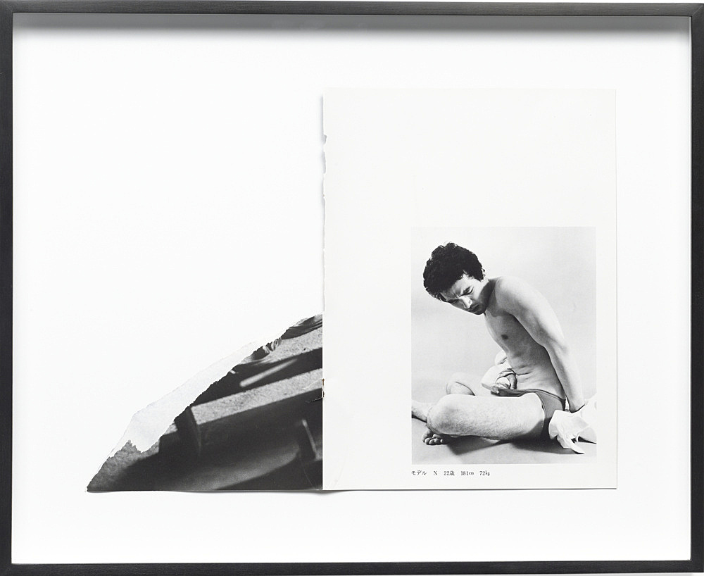 Cerith Wyn Evans – Untitled, 2010 collage 41,2 x 50,6 x 3,9 cm (framed)