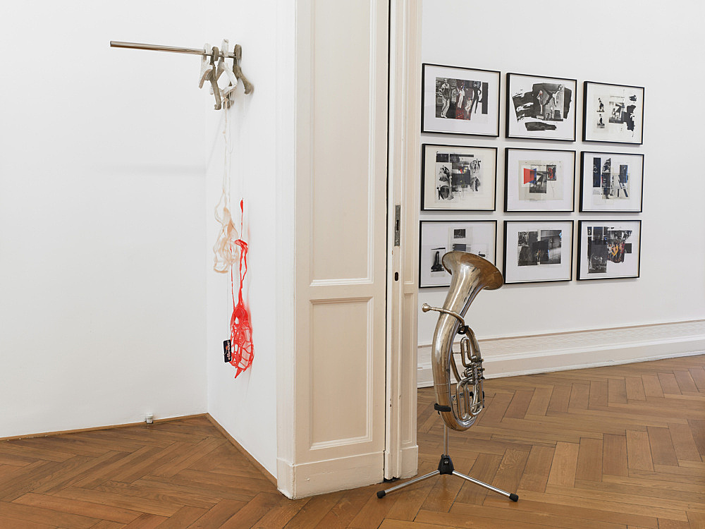 """– """"Quodlibet III – Alphabets and Instruments"""" installation view Galerie Buchholz, Berlin 2011"""