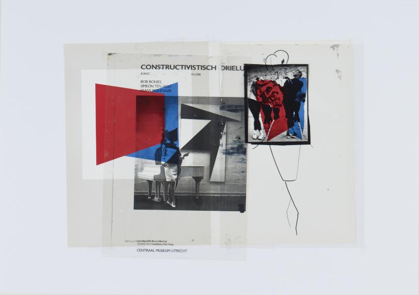 "Paulina Olowska – ""Body Movement – Alphabet Studies"", 2007 collage 43 x 61 cm"