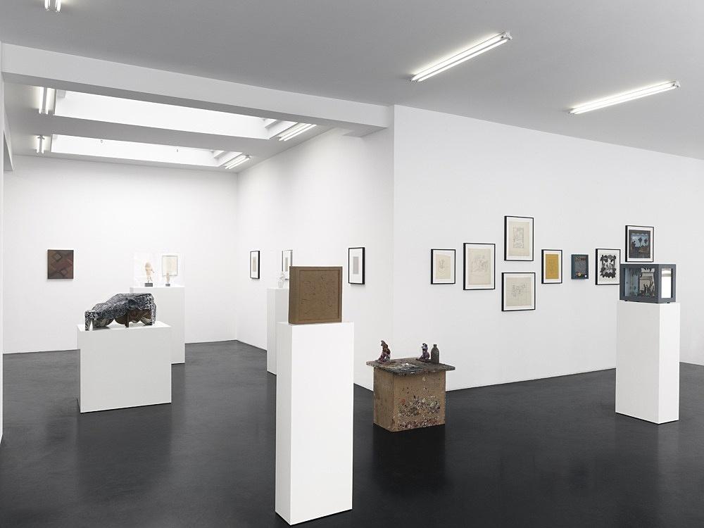 "– ""Automaton"" installation view Galerie Buchholz, Köln 2012"