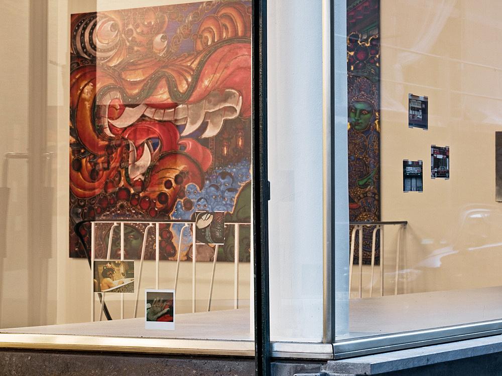 Martin Wong – Works 1980 – 1998 installation view Galerie Daniel Buchholz, Köln 2010