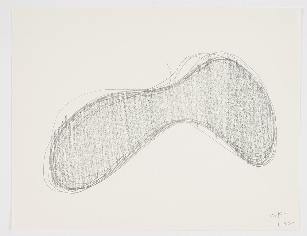 Morgan Fisher – Untitled, 2002 pencil on paper 21,6 x 27,9 cm