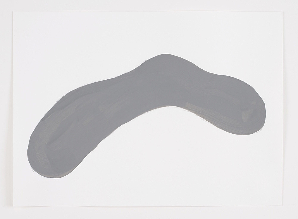Morgan Fisher – Untitled, 2002 pencil and gouache on paper 23,9 x 33 cm