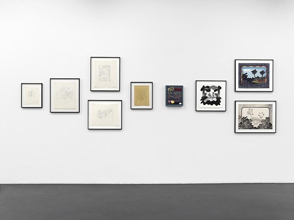 "Ed Flood – ""Automaton"" installation view Galerie Buchholz, Köln 2012"