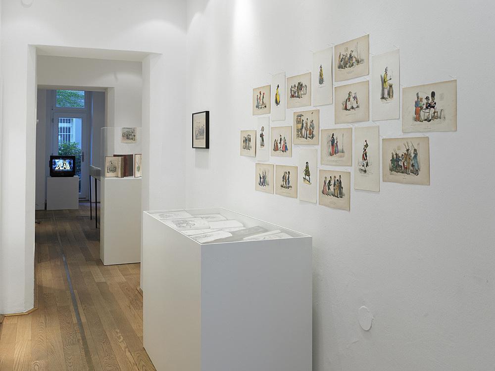 Cosima von Bonin – installation view Galerie Buchholz, Berlin 2011