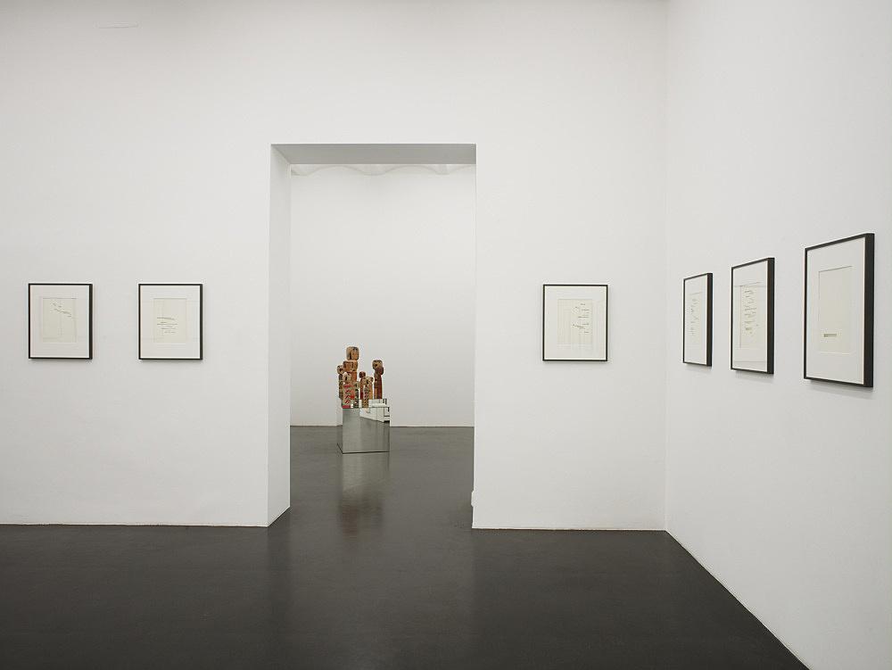 """Cerith Wyn Evans – """"Permit yourself…"""" installation view Galerie Daniel Buchholz, Neven-DuMont-Straße 17, 2009"""