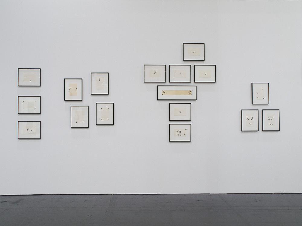 Tony Conrad – installation view Galerie Daniel Buchholz, Art Cologne 2008