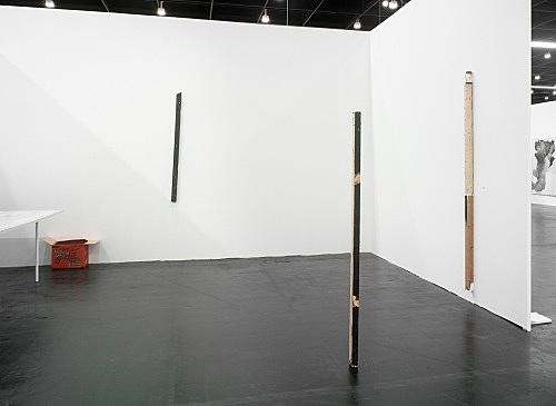 "Henrik Olesen – ""Mr. Knife & Mrs. Fork"" installation view Art Cologne, April 21-25, 2010"