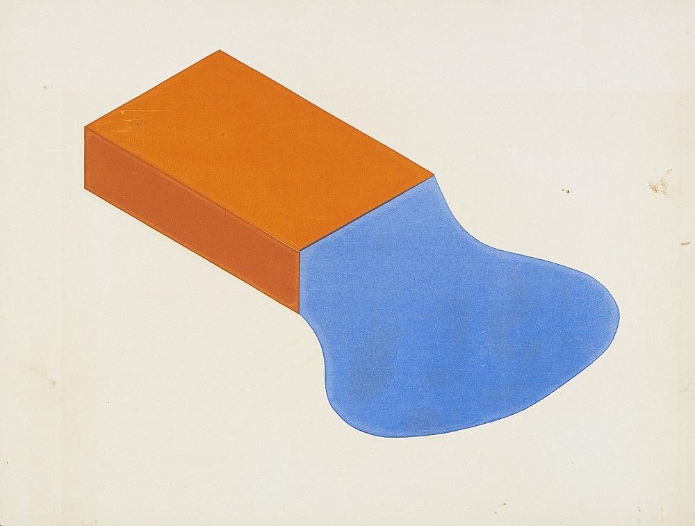 Morgan Fisher – Untitled, 1968 silkscreen on paper 45 x 59,5 cm