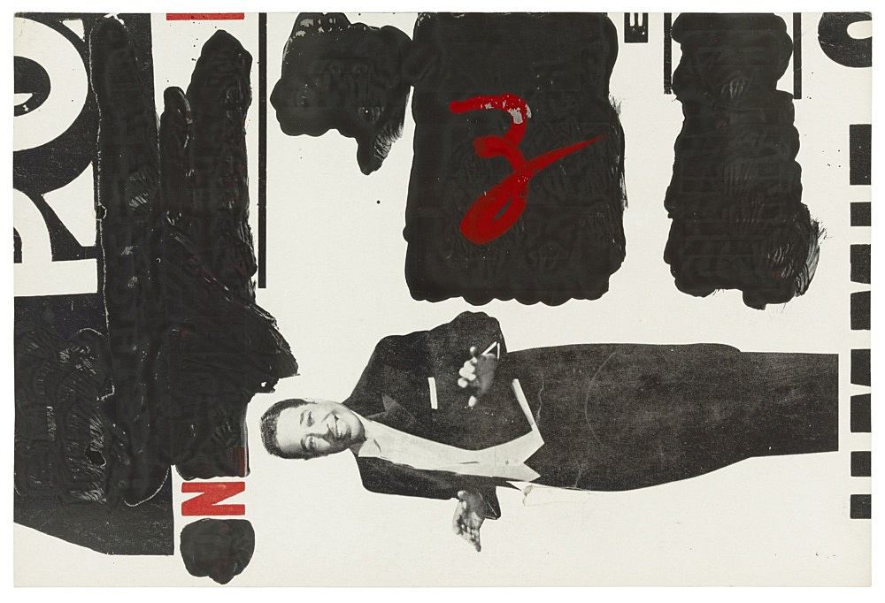 Charles Henri Ford – Untitled, 1950s gouache and collage on paper 31 x 45 cm