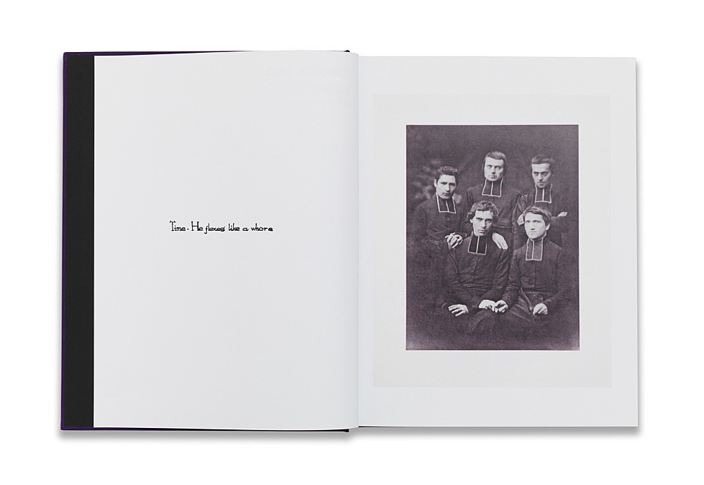 Danh Vo – 2 Février, 1861. Phung Vo 2012, 224 p., fully illustrated in colour 23,5 x 18,5 cm edited by Danh Vo published by Kunsthaus Bregenz 10 ex. inscribed by Phung Vo: 'Time – He flexes like a whore'