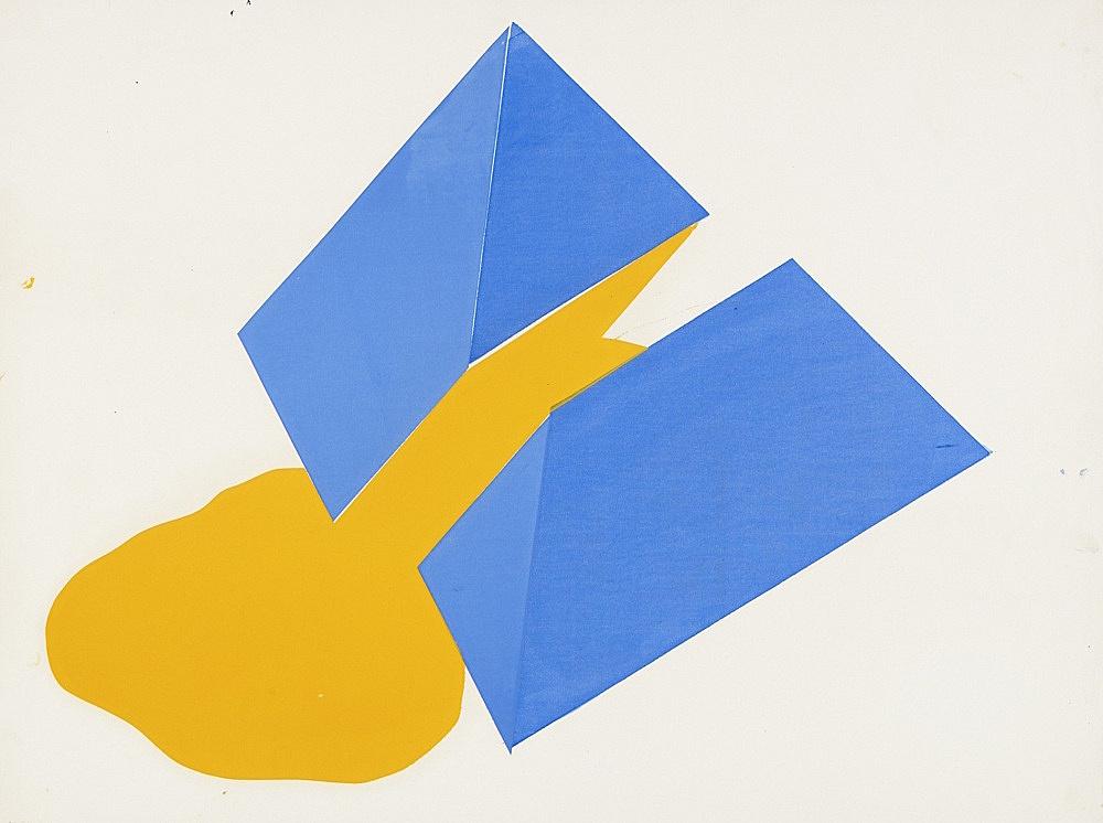 Morgan Fisher – Untitled, 1968 silkscreen on paper 45 x 60,5 cm