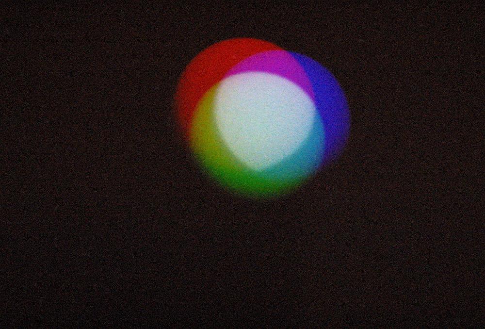 "Morgan Fisher – ""Color Balance"", 1980 (Reconstruction 2002) installation view Galerie Daniel Buchholz, Köln 2002"