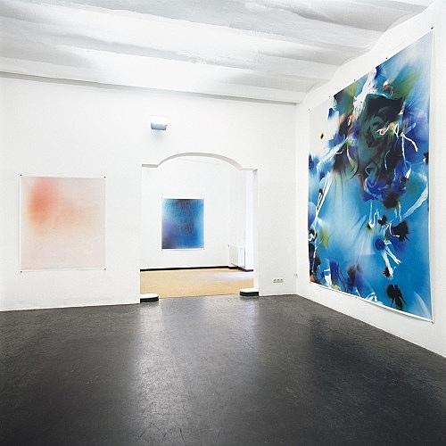 """Wolfgang Tillmans – """"Super Collider"""" installation view Galerie Daniel Buchholz, Köln 2001"""