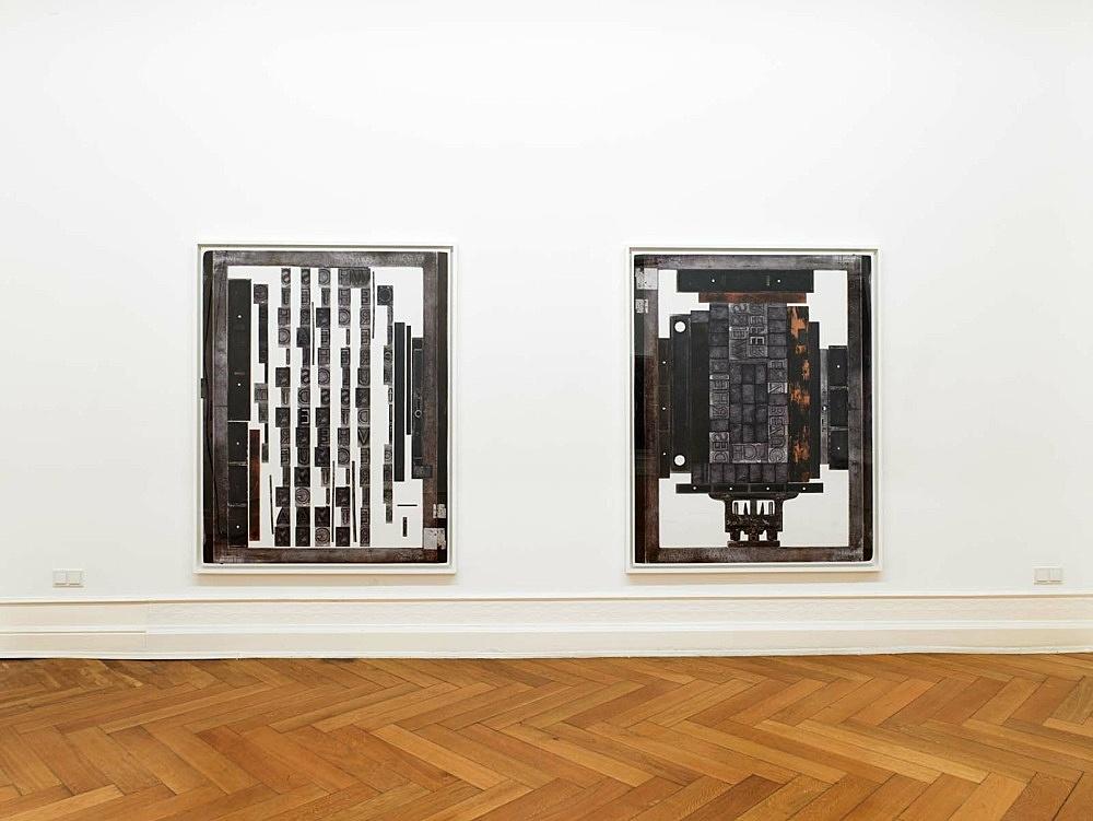 Sam Lewitt – installation view Galerie Buchholz, Berlin 2011
