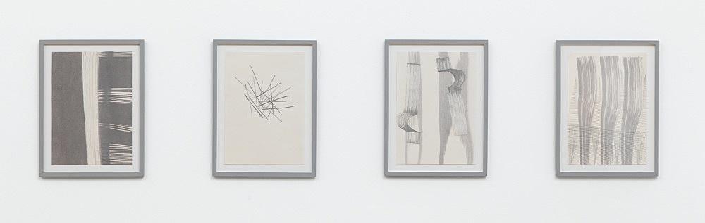 Tomma Abts – installation view Galerie Buchholz, Berlin 2013