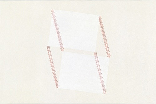 "Frances Stark – ""Untitled (now, no, paper #4)"", 1999 