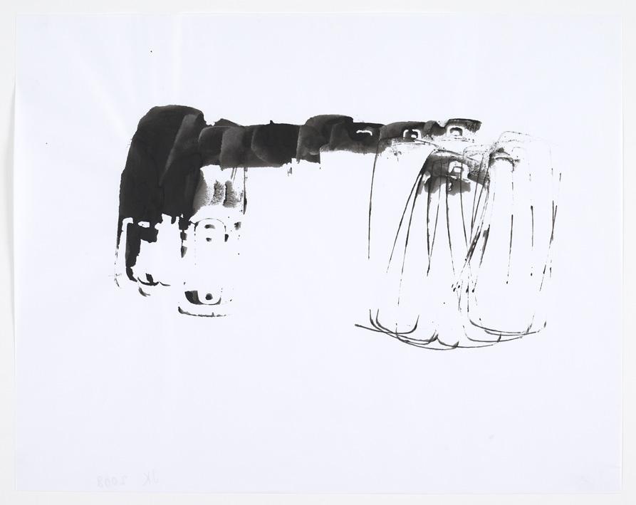 John Kelsey – Untitled, 2008 ink on paper 27,9 x 35,5 cm