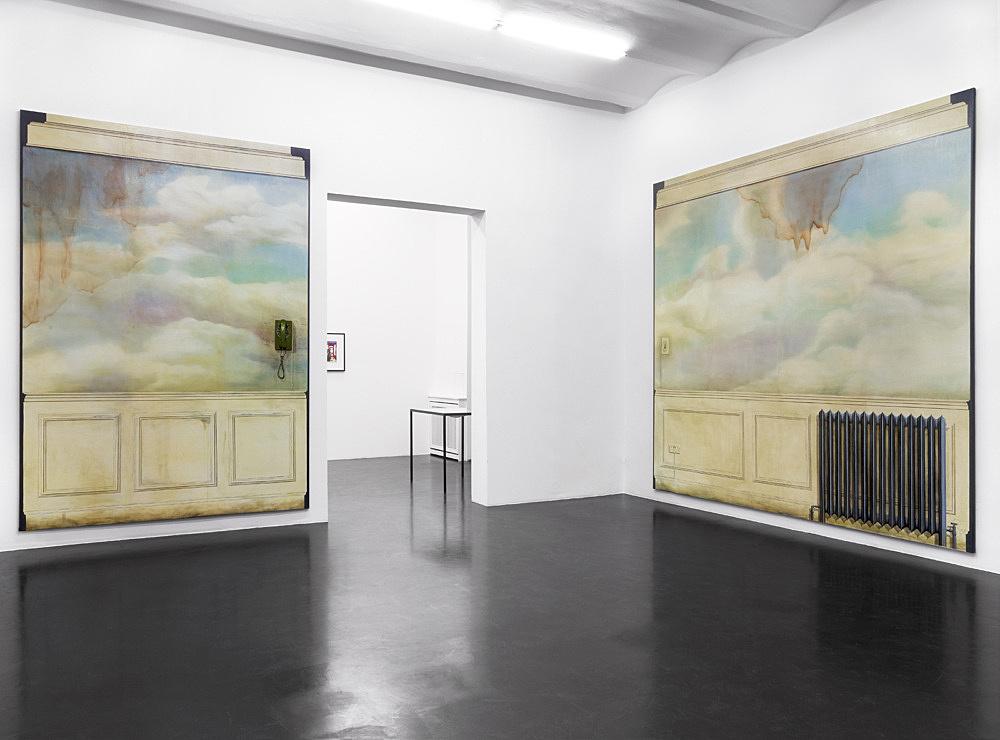 """Lucy McKenzie – """"Slender Means"""" installation view Galerie Daniel Buchholz, Köln 2010"""