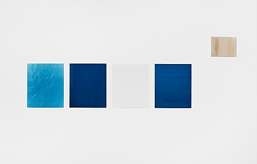 "Wolfgang Tillmans – ""Lighter XI"", 2007 / ""Lighter XII"", 2007 / ""Lighter XIII"", 2007 / ""Lighter XIV"", 2007 / ""Silver 62"", 1994 5 c-prints 61 x 50.8 cm and 30.5 x 40.6 cm"