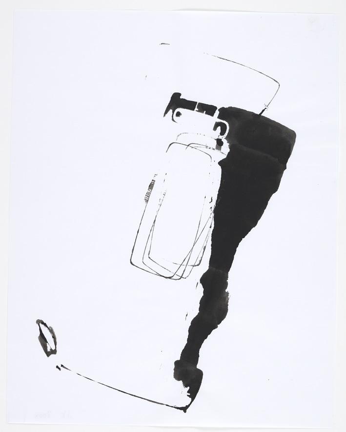 John Kelsey – Untitled, 2008 ink on paper 35,5 x 27,9 cm
