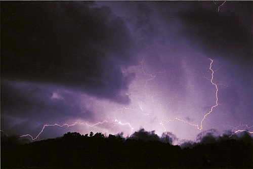 "Wolfgang Tillmans – ""Lightning II"", 2002 c-print 145 x 212 cm"