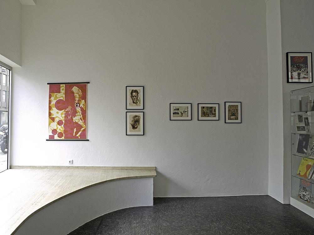 Charles Henri Ford – installation view, Christophstraße 18, Köln 2008