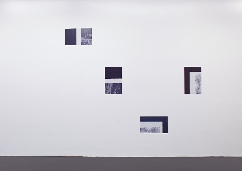 """Cheyney Thompson – """"Working Papers"""", 2008 12 duotone offset prints each 53 x 33 cm detail"""